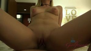 Her ass took your cock, and her pussy a good creampie
